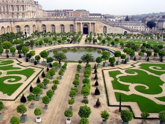 حديقة قصر فرساي