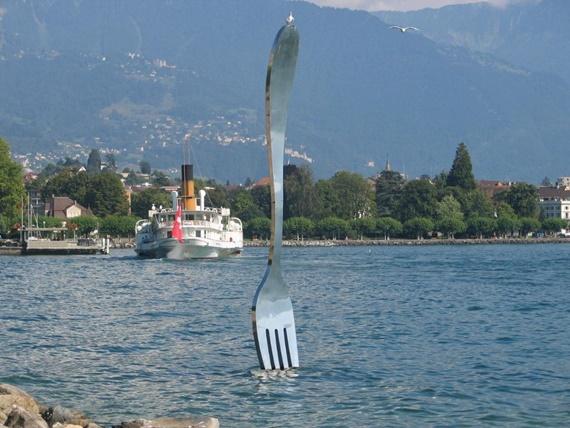 متحف الغذاء فى مدينة فيفي السويسرية