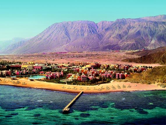 أجمل المناطق السياحية فى طابا المصرية