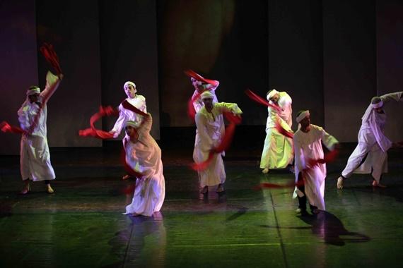 رقصات شرقية تقدم على مسارح الأوبرا المصرية