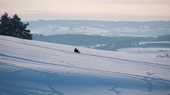 التزلج على الجليد بالقرب من أوتليبيرج