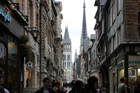 شوارع روان الفرنسية