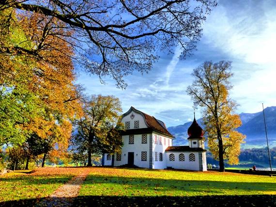 الخريف في سارنين