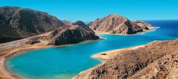 جمال الطبيعة فى مدينة طابا المصرية