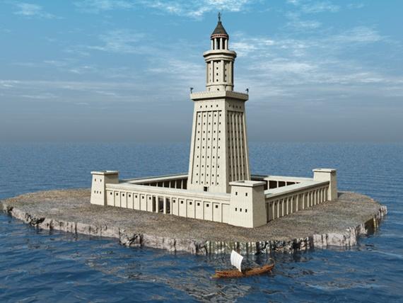 منار الأسكندرية تاريخ جزيرة فاروس
