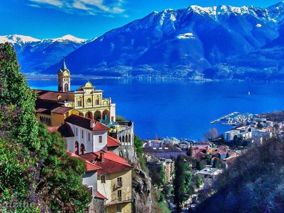 أهم المعالم السياحية فى مدنة لوكارنو السويسرية