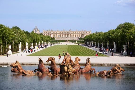 صورة قصر فرساي أهم القصور الملكية فى فرنسا