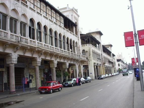 شارع الكوربة أشهر شوارع مصر الجديدة