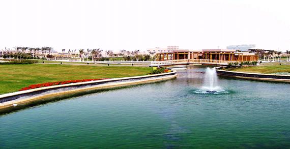 حديقة الأسرة بالقاهرة الجديدة