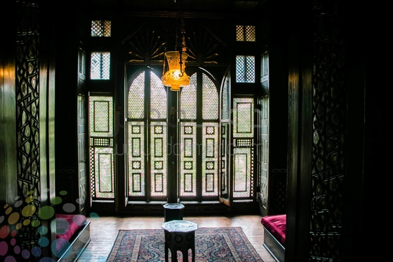 قاعة الاستقبال فى قصر محمدعلى