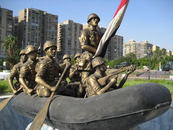 بانورما حرب أكتوبر فى مدينة القاهرة