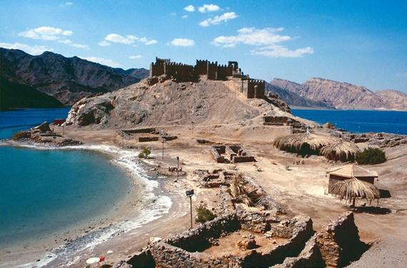 قلعة صلاح الدين بجزيرة فرعون