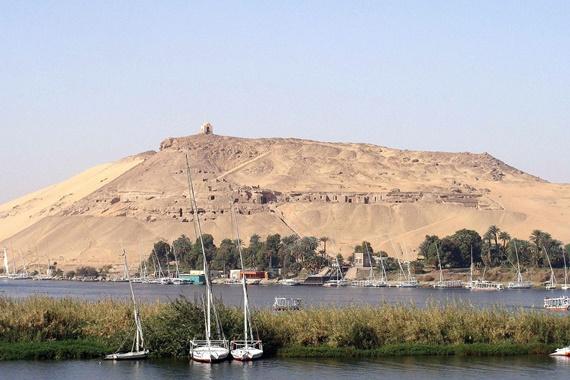 قبة الهواء على ضفاف النيل