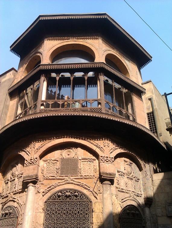 الفن المعمارى فى باب زويلة بالقاهرة