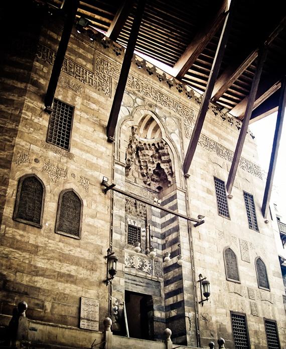 المعمار الأسلامى المميز فى شارع الغورية