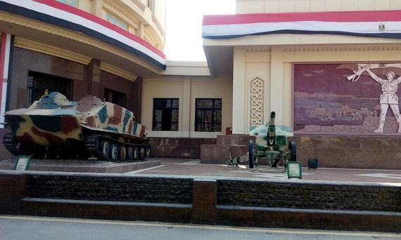 الدبابات فى بانوراما حرب أكتوبر