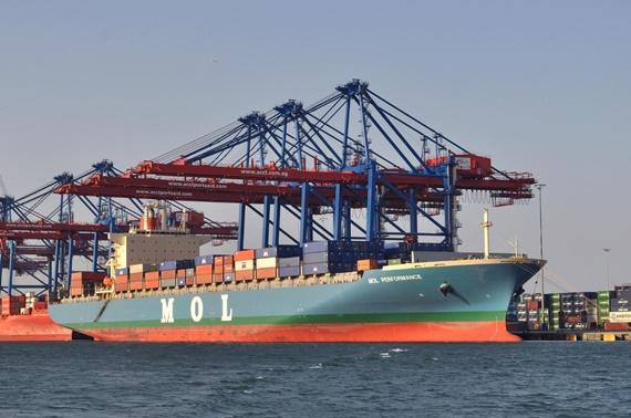 ميناء سفاجا على البحر الأحمر
