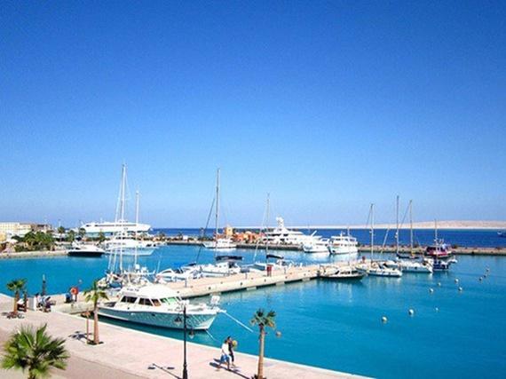 شواطئ ميناء سفاجا الرائعة