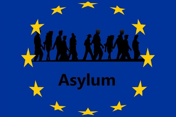 صورة اللجوء في اوروبا للمقيمين في دول الخليج