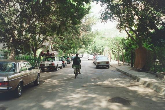 شارع 9 أحد أشهر شوارع حى المعادى