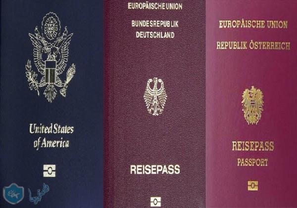 ترتيب جوازات السفر 2016