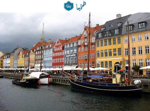 مراقبة اللاجئين على أرض الدنمارك