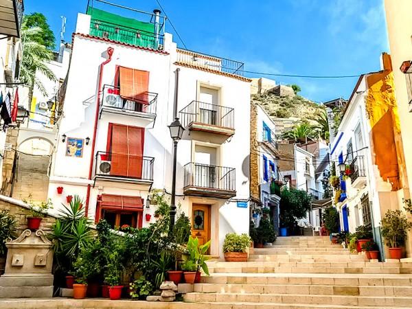 The Barrio Santa Cruz