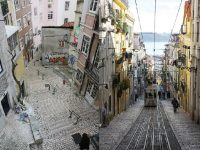 المنحدرات في لشبونة