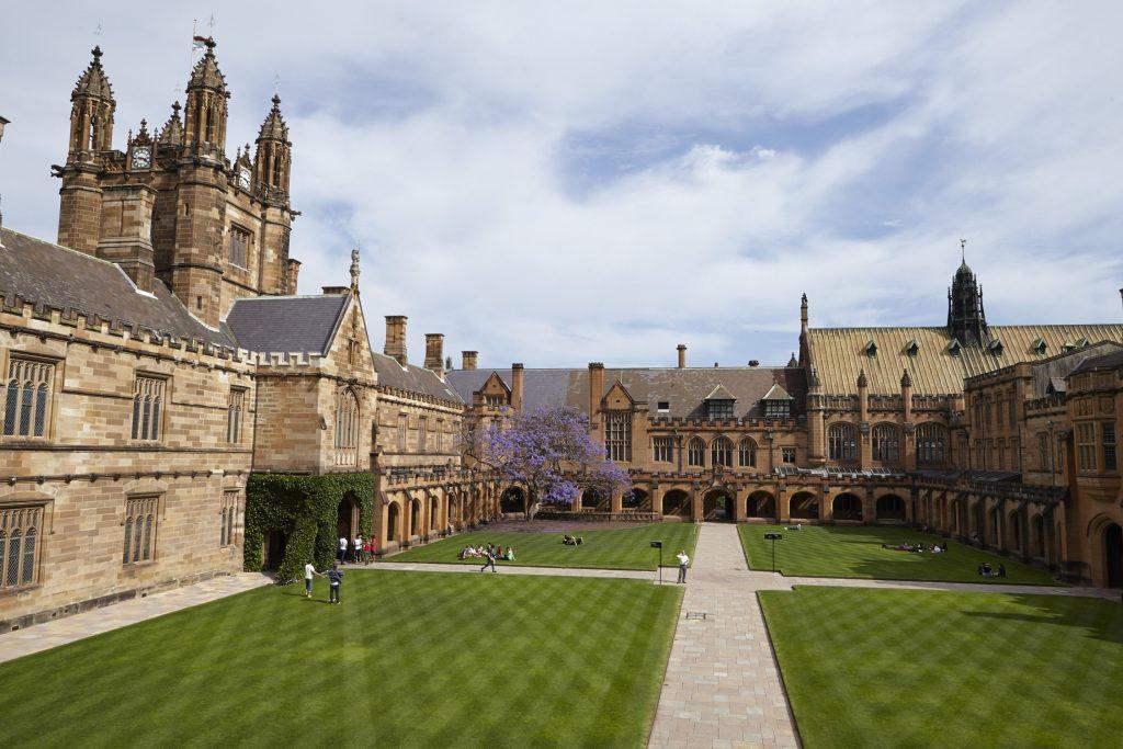 جامعة سيدني بأستراليا