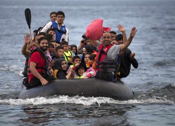 الغرقى من المهاجرين في البحر المتوسط