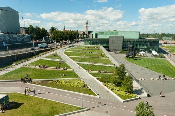 نظرة على العاصمة الفنلندية هلسنكي