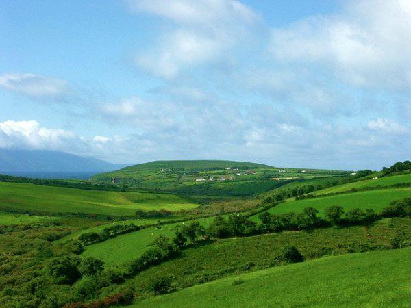 الطبيعة العذراء في ايرلندا