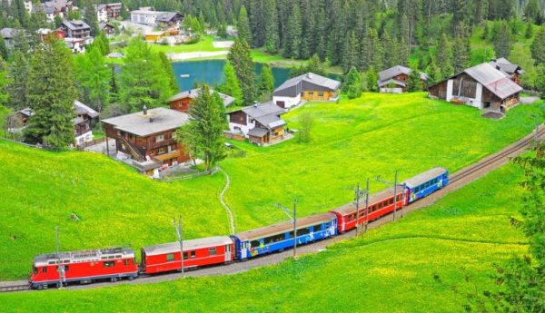 بلدة أروشا سويسرا
