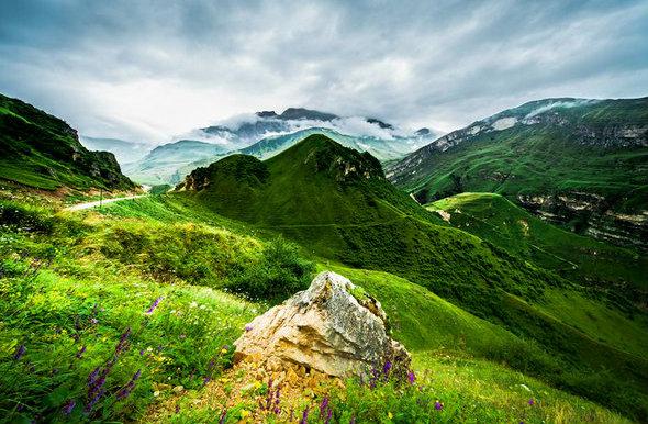 الطبيعة الساحرة في اذربيجان