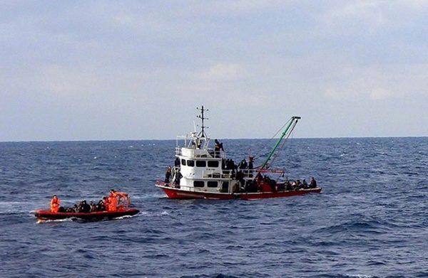 فقدان مهاجرين في البحر قبالة السواحل الليبية