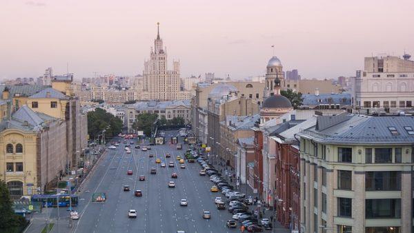 رحلتى الى موسكو