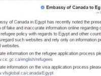 السفارة الكندية بالقاهرة تصدر توضيحات بخصوص اللجوء للمصريين