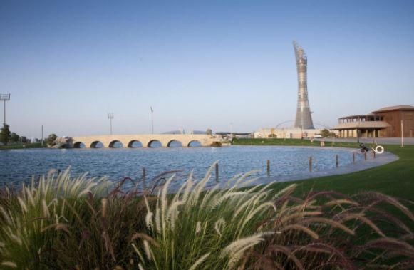 حديقة اسباير الدوحة