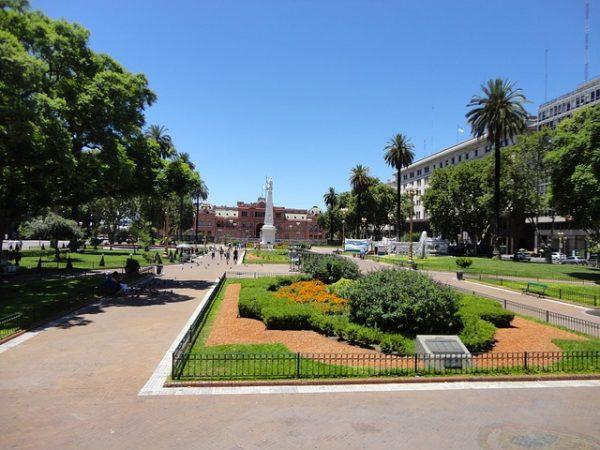 ساحة مايو بوينس ايرس