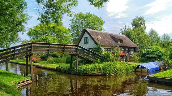 الطبيعة فيقرية جيثورن بهولندا