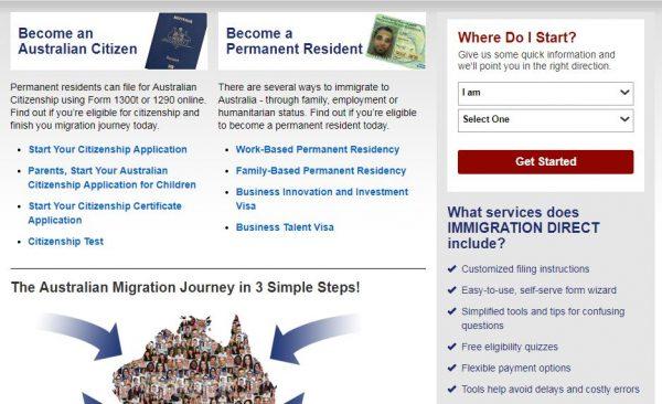 أفضل أنواع فيزا الهجرة الى استراليا