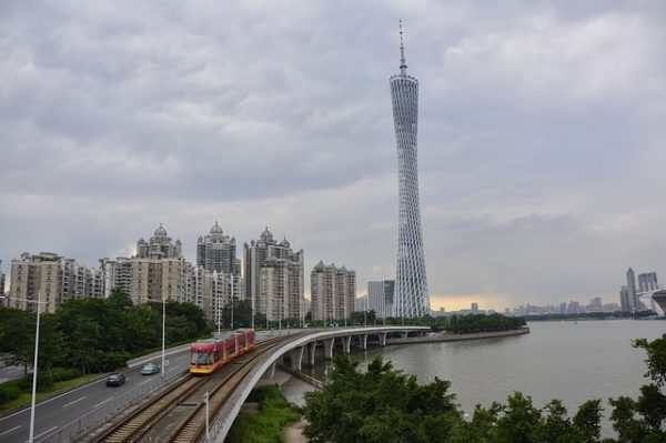 مدينة جوانزو في الصين