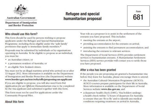 الهجرة الى استراليا عن طريق الامم المتحدة