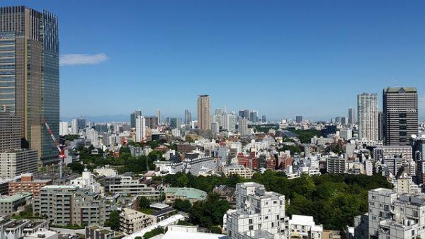 مدينة طوكيو في اليابان