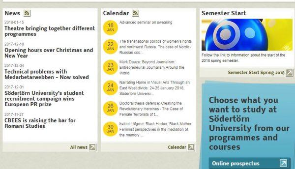 صورة الجامعات التي تقدم منح دراسية مجانية في السويد في تخصصات مختلفة