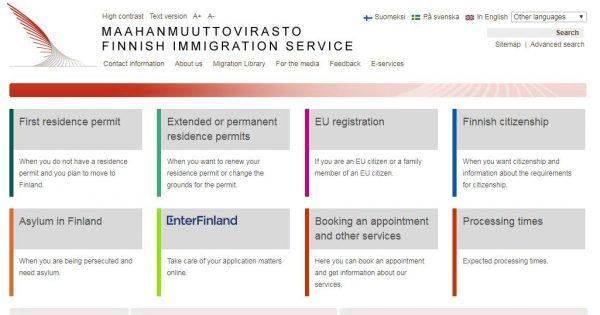 الهجرة الى فنلندا من مصر