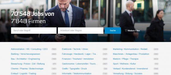 مواقع البحث عن عمل في سويسرا