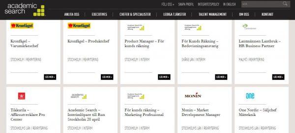 أفضل 10 مواقع للبحث عن عمل في السويد