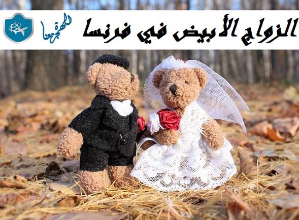 الزواج الأبيض في فرنسا .. الزواج لغرض الحصول على الاقامة و الجنسية الفرنسية