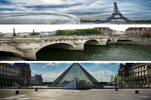 الأنشطة السياحية في باريس